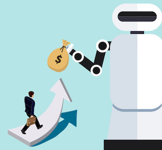 Man Automating Debt Reduction Plan