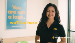 Women customer service representative helping customer get loan